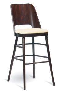 Barowy hoker drewniany BSP-0043 krzesło barowe typu BST-1411 fameg Avola