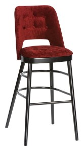 Barowy hoker tapicerowany BSP-0045 krzesło barowe typu BST-1412 fameg Alora