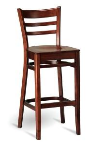 Barowy hoker drewniany BSP-5200 krzesło barowe country typu BST-9907 fameg Bistro.2