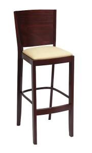 Krzesło barowe z siedziskiem tapicerowanym BST-0600 krzesło barowe typu BST-9731 Joy