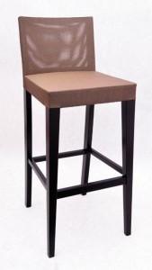 Krzesło barowe tapicerowane BST-0808