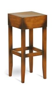 Drewniany stołek barowy CP-0917