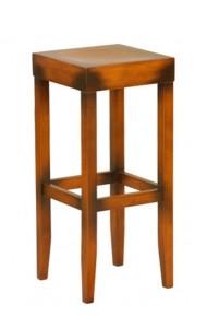 Drewniany stołek barowy CP-0919