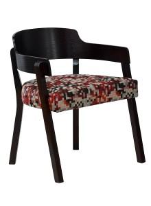 Fotel tapicerowany PIZZO-2-BN