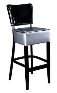 Hoker nowoczesny tapicerowany BST-9608-1 krzesło barowe typu Tulip
