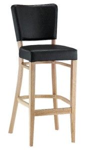 Hoker tapicerowany BST-9608 krzesło barowe typu Tulip
