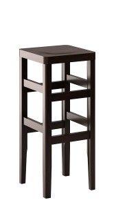 Stołki barowe CP-3140 taboret barowy drewniany