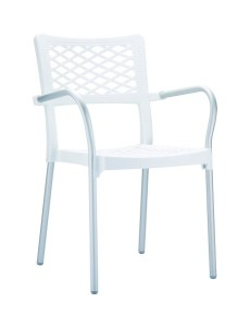 Fotel Bela bialy