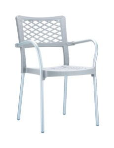 Fotel nowoczesny Bela szary