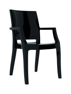 Fotel Artur czarny