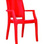 Fotel Artur czrwony