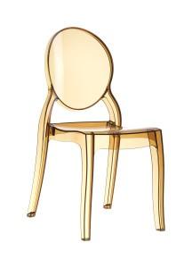Krzeslo Eliza bursztyn trans
