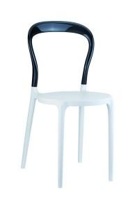 Krzeslo Mister bialy czarny