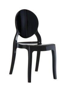 Krzeslo Eliza czarny
