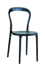 Krzeslo Mister czarny czarny