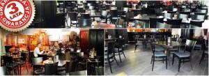 Meble restauracyjne w Poznaniu w restauracji Brovaria