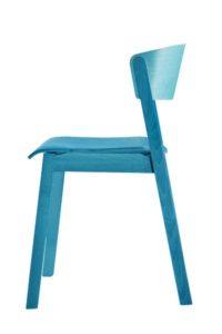 Krzesło CAVA AS w kolorze NCS bejca
