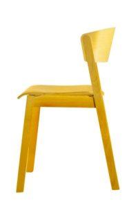 Krzesło CAVA AS w kolorze RAL bejca