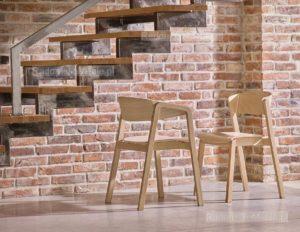 Aranżacja domu krzesło CAVA i fotel CAVA