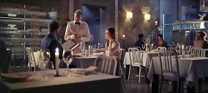 Krzesła Alcatraz w reklamie filmowej