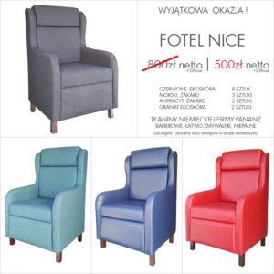 Fotele typu uszak - wyprzedaż
