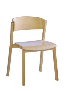 Sztaplowane krzesło nowoczesne CAVA AS Meble Radomsko