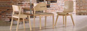 Krzesła nowoczesne drewniane CAV 1002 Zipo