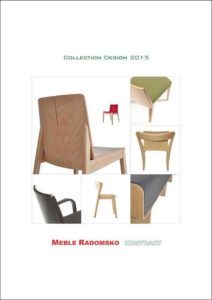 Katalog Design 2015 mebli i krzeseł firmy Meble Radomsko