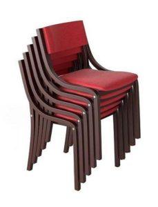 Sztaplowane krzesło A-0107-ST do restauracji