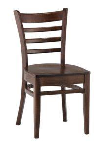Sztaplowane krzesło AR-9907 drewniane typu Bistro fameg