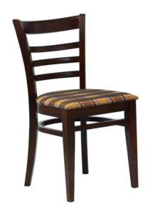 Sztaplowane krzesło do baru AR-9907 tapicerowane typu Bistro fameg