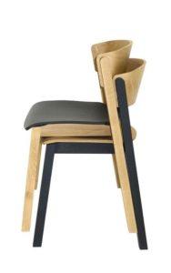 Krzesło sztaplowane AS-Cava nastawne do 6 sztuk