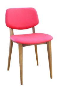 Nowoczesne krzesło sztaplowane PEBLE-EAN2
