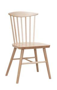 Krzesło drewniane SPINDLE 2 AN typu patyczak