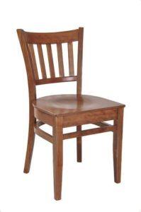 Sztaplowane krzesło do baru AR-9907-W drewniane typu TULIP fameg
