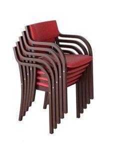 Sztaplowany fotel B-0106-ST