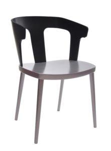 Fotel dwukolor nowoczesny DIKA BS