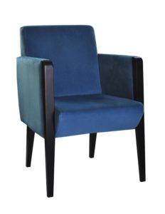 Fotel nowoczesny Kondal-1BF tapicerowany hotelowy