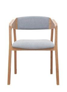 Tapicerowany fotel CAVA 2 BS w stylu MERANO