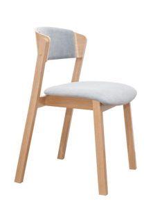 Krzesło nowoczesne drewniane CAVA 2 AS