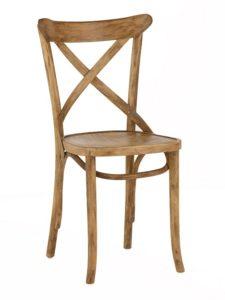 Krzesło drewniane gięte AG-150P Olejowany Antic typu Crossback