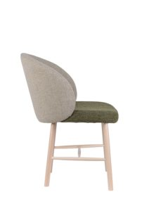 Krzesło tapicerowane nowoczesne MON-AS
