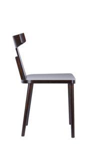 Designerskie krzesło drewniane do salonu nowość Meble Radomsko