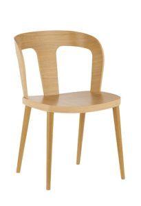 Designerskie krzesło dębowe DIKA AS
