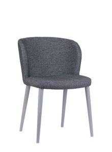 Nowoczesne krzesło tapicerowane DIKA 2 AS projekt Y.Sarri