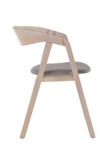 Sztaplowane krzesło nowoczesny LOX BS z drewna dębowego
