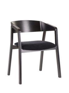 Fotel nowoczesny czarny