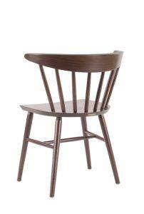 Krzesło drewniane CANDELLA-A z tyłu