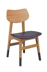 Krzesło drewniane LETTO-AN z nakładkami na nogi