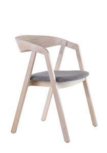 Fotel nowoczesny LOX BS kolor biały sprany Meble Radomsko